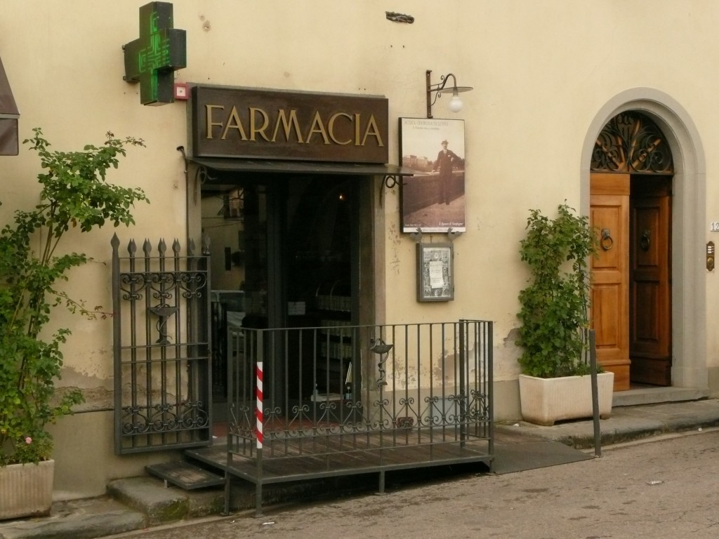 The Mercatale Pharmacy, a trip into the past